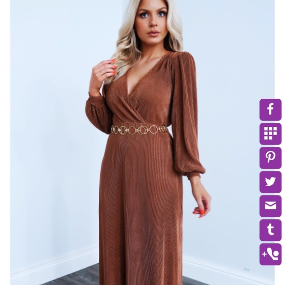 ShopHopes Bronze Dress